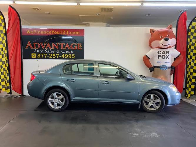 2009 TEAL Chevrolet Cobalt LT1 Sedan (1G1AT58H497) with an 2.2L L4 DOHC 16V engine, 5-Speed Manual Overdrive transmission, located at 533 S West End Blvd., Quakertown, PA, 18951, (877) -257, 40.343994, -75.303604 - Photo #0