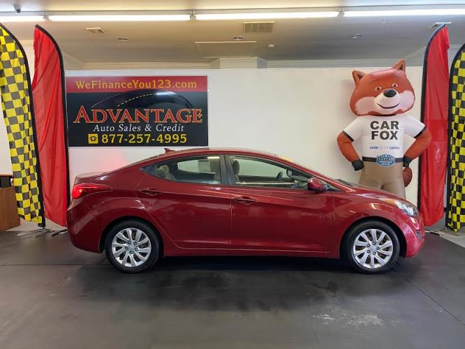 2013 Hyundai Elantra ***LOW MILES! MANUAL!***