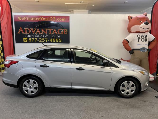 2013 SILVER Ford Focus S Sedan (1FADP3E29DL) with an 2.0L L4 DOHC 16V engine, located at 533 S West End Blvd., Quakertown, PA, 18951, (877) -257, 40.343994, -75.303604 - Photo #0