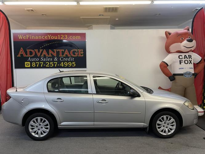 2010 Chevrolet Cobalt LS Sedan (1G1AB5F57A7) with an 2.2L L4 DOHC 16V engine, 4-Speed Automatic transmission, located at 533 S West End Blvd., Quakertown, PA, 18951, (877) -257, 40.343994, -75.303604 - Photo #0