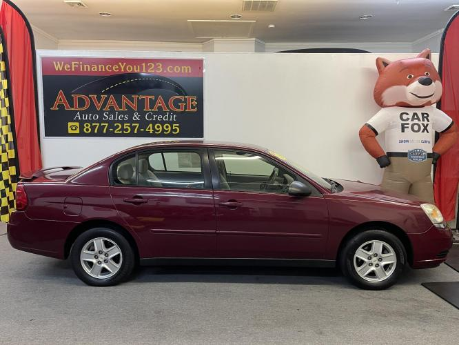 2005 RED Chevrolet Malibu LS (1G1ZT52875F) with an 3.5L V6 OHV 12V engine, 4-Speed Automatic Overdrive transmission, located at 533 S West End Blvd., Quakertown, PA, 18951, (877) -257, 40.343994, -75.303604 - Photo #0