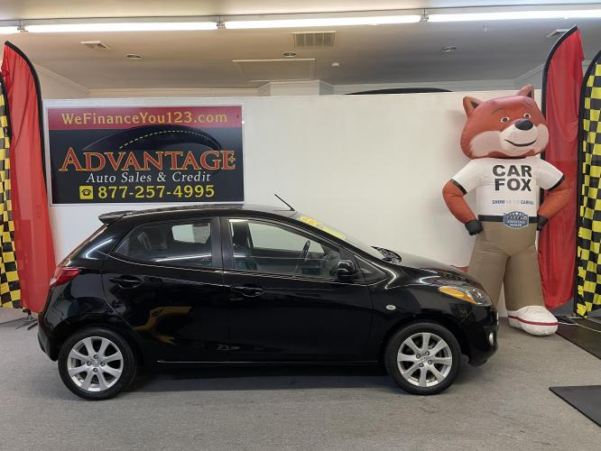 2012 Black Mazda MAZDA2 Touring (JM1DE1LZ3C0) with an 1.5L L4 DOHC 16V engine, located at 533 S West End Blvd., Quakertown, PA, 18951, (877) -257, 40.343994, -75.303604 - Photo #0