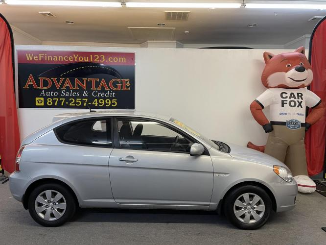 2010 Blue Hyundai Accent Blue GS 3-Door (KMHCM3AC5AU) with an 1.6L L4 DOHC 16V engine, located at 533 S West End Blvd., Quakertown, PA, 18951, (877) -257, 40.343994, -75.303604 - Photo #0
