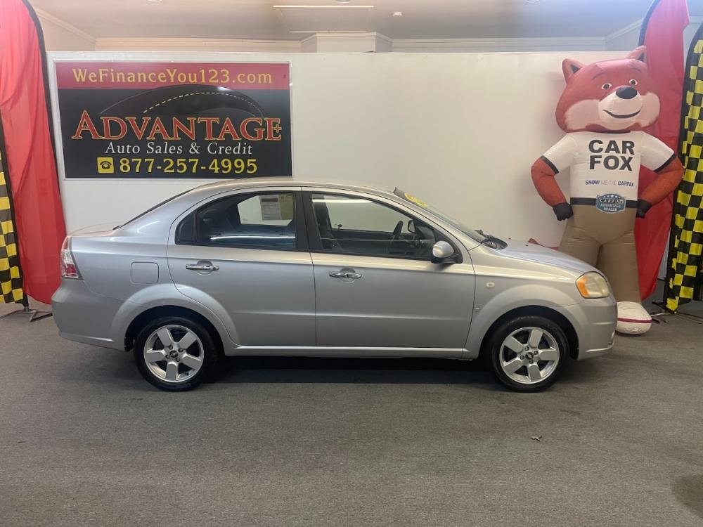 2008 SILVER Chevrolet Aveo LT 4-Door (KL1TG56658B) with an 2.2L L4 DOHC 16V engine, located at 533 S West End Blvd., Quakertown, PA, 18951, (877) -257, 40.343994, -75.303604 - Photo #0